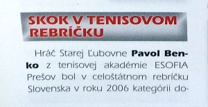 Benko, Ivan, Kniha slovenských rekordov, 1. stĺpec.jpg