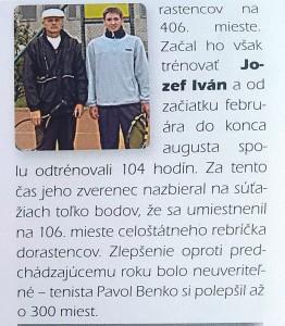 Benko, Ivan, Kniha slovenských rekordov, 2.stĺpec.jpg