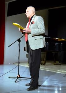 Zaujímavým programom zasvätene sprevádzal jeho scenárista a režisér, autor knihy Jozef Ivan