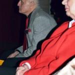 Zaujatí programom - citlivá poetka Mária Bareánová a Jozef Ivan